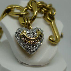 Juicy Couture Heart Chain Link Bracelet